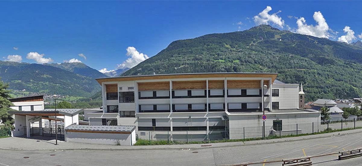 Collège St Exupéry à Bourg-St-Maurice (73)